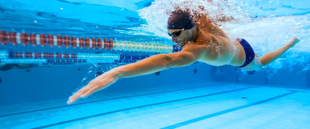 Wettkampfvorbereitung für Schwimmer